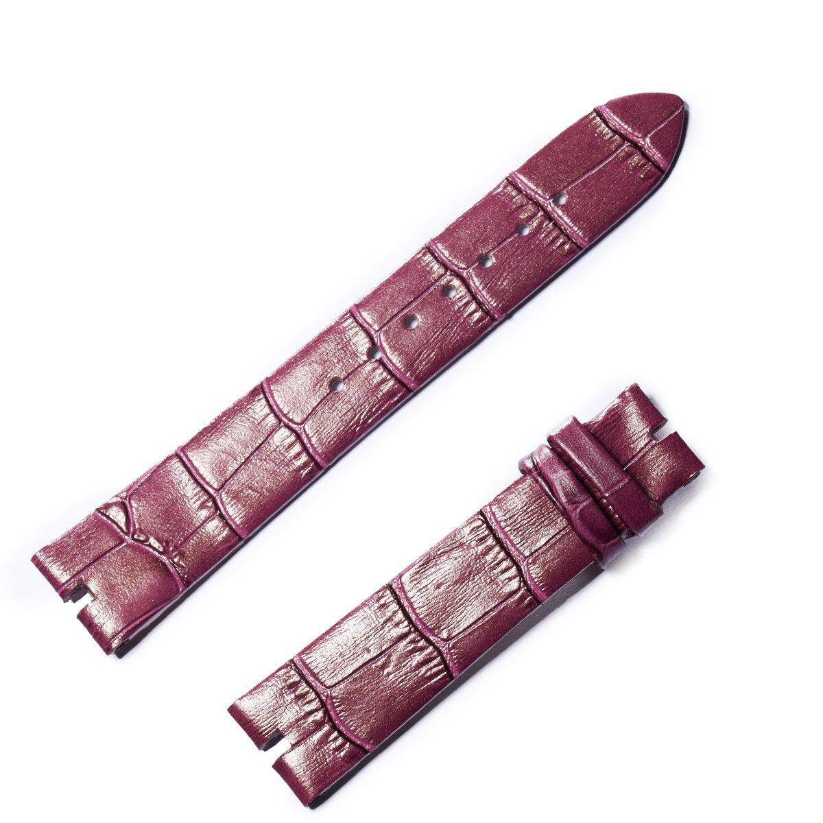 Reef Tiger/RT Womens Watch Genuine Leather Strap with Buckle Waterproof Purple Strap RGA151