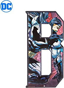 Superhero Letter Metal Wall Decor Marvel and DC Comic Letters (B)