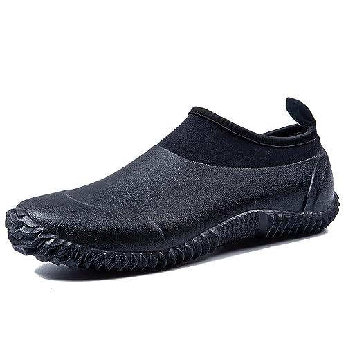 Botas de Lluvia Botas de Agua Zapatos de Jardín Impermeables para Mujeres Hombres: Amazon.es: Zapatos y complementos