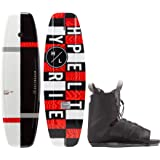 Hyperlite Motive Wakeboard w/Frequency One Size Fits All Boots
