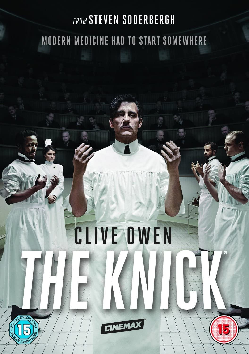 The Knick Season 1 Dvd 2014 Amazon Co Uk Clive Owen Clive Owen Dvd Blu Ray