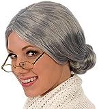 Kangaroo's Old Lady / Mrs. Santa Wig; Gray Wig