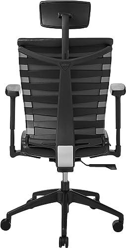 ApexDesk SKC-PU4 chair Black PU Leather
