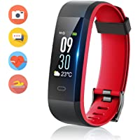 Vigorun IP68 Fitness Tracker with Heart Rate Monitor