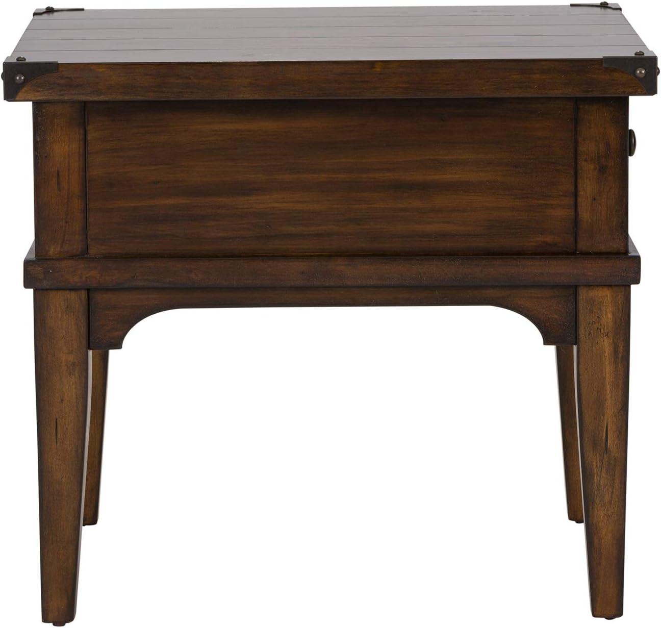 Liberty Furniture Industries Aspen Skies End Table, 23