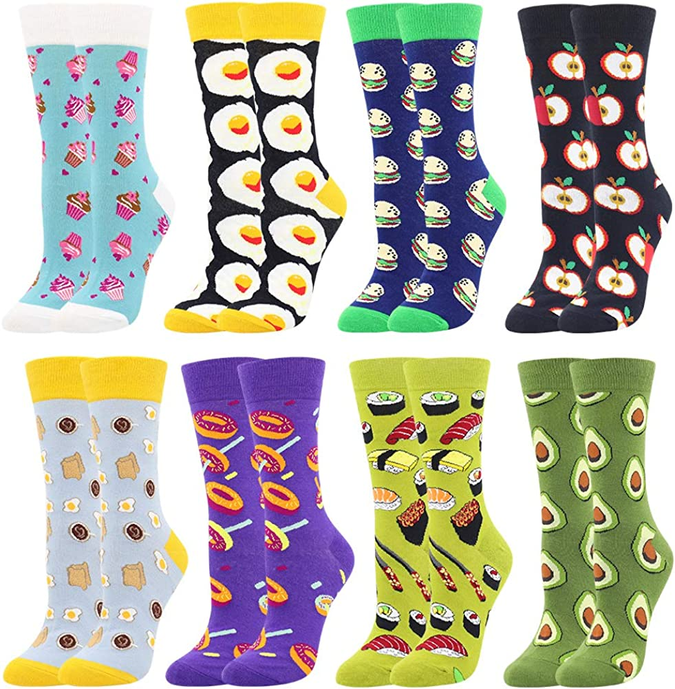 Top 10 Teehee Women's Food Crew Socks 3Pack