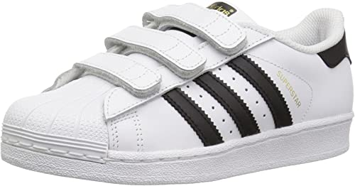 polilla refrigerador dispersión  adidas Superstar Foundation Cloud White/Core Black B26070 (Size: 2.5):  Amazon.co.uk: Shoes & Bags