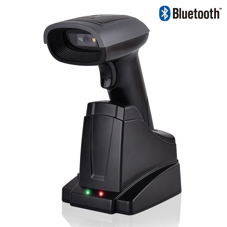 Elekele® Orbit Barcode Scanner, Piattaforma Scan Codice a Barre 1D 2D Scanner Barcode Automatico 300/sec con Testina Regolabile (2D Mano Libera)