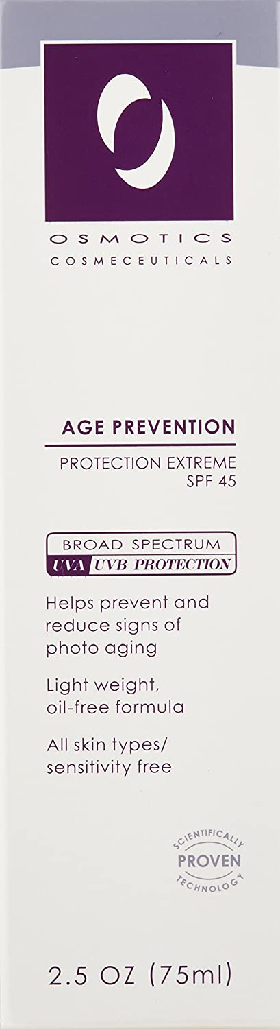 Osmotics Cosmeceuticals Age Prevention Protection Extreme SPF 45, 2.5 oz.