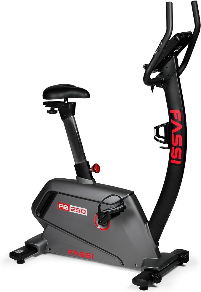 Fassi FB Bicicleta estática, Gris Oscuro, FB 250, Gris Oscuro ...