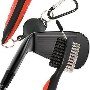 Accesorios de limpieza de palos de golf para planchar, cara y cuñas, ranura los regalos de golf personalizados para hombres o mujeres y ella o ella ...