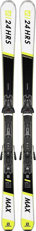 SALOMON E SMax 10 + Z12 GW F80 all Mountain Ski Nero 170