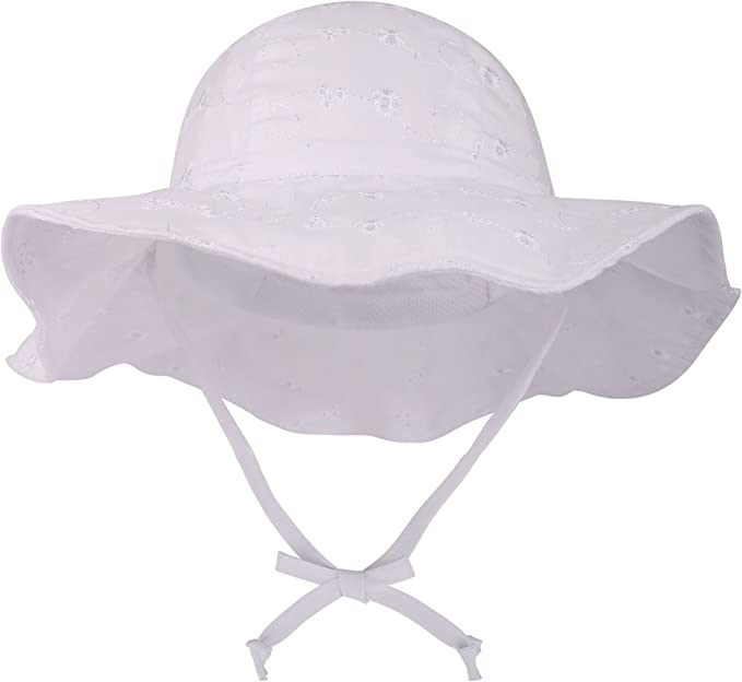UPF 50+ Wide Brim Baby Sun Hat (For all colors)