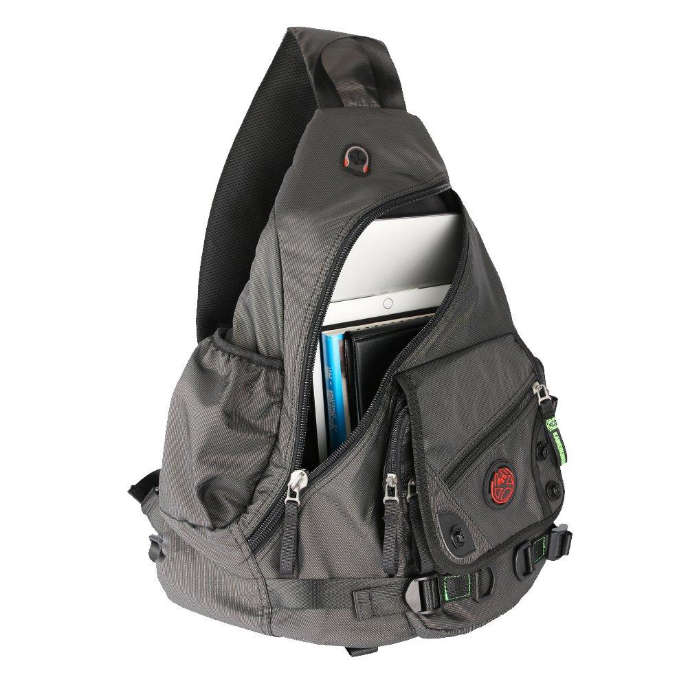 Kawei Knight Large Sling Bag Laptop Backpack Cross Body Messenger ...
