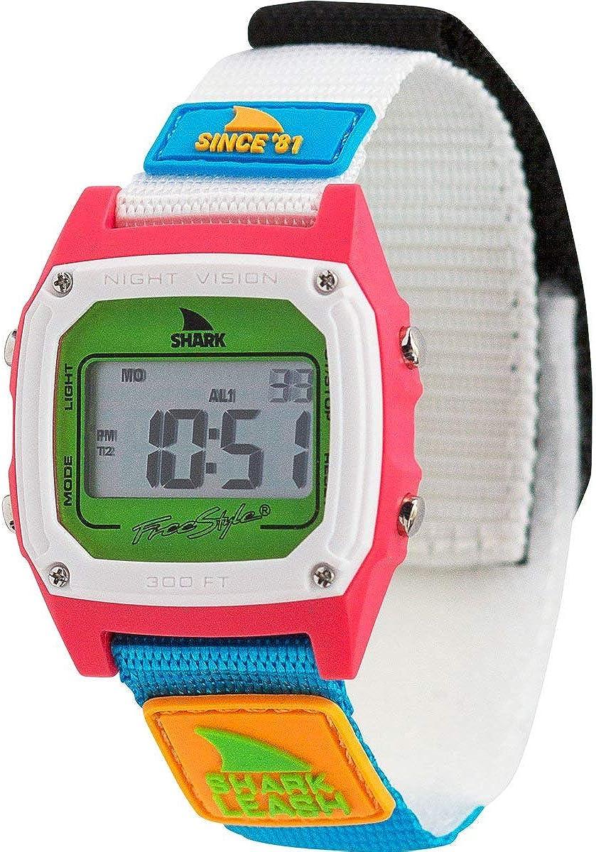 Freestyle Shark Classic Leash Since 81 Neon 2.0 Unisex Watch FS101008