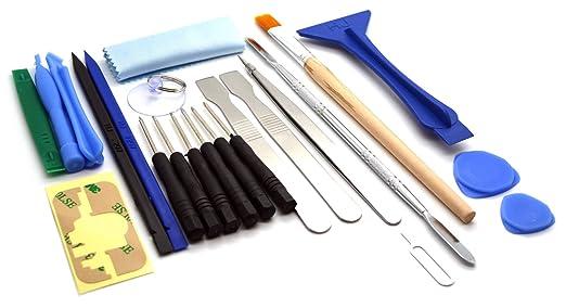 Acenix - Juego de destornillador y herramientas de reparación (23 piezas)