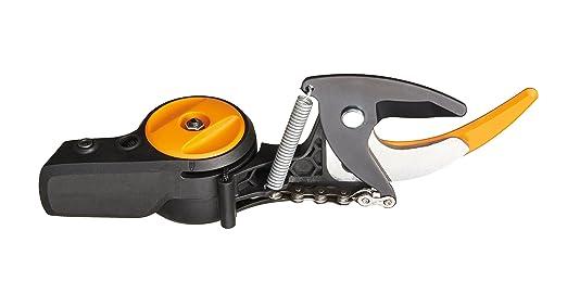 Fiskars Original Cabezal de recambio para pértigas de podar UPX82 yUPX86, Negro/Naranja, 1026295