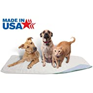 Careoutfit 100% Cotton Top 36 x 72 - XXL Waterproof Reusable Pee Pads/Quilted Washable Large Dog/Puppy Training Travel Pee Pads