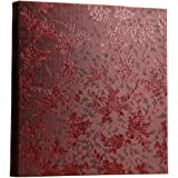 Xerhnan Leather Cover Photo Album 600 Pockets Hold 4x6 Photos.(Peony Flower)