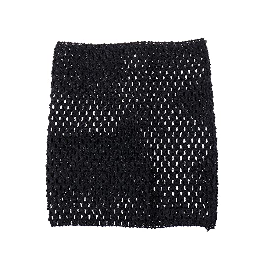 Amazon 9inch Crochet Tutu Tube Tops Elastic Wrapped Chest For