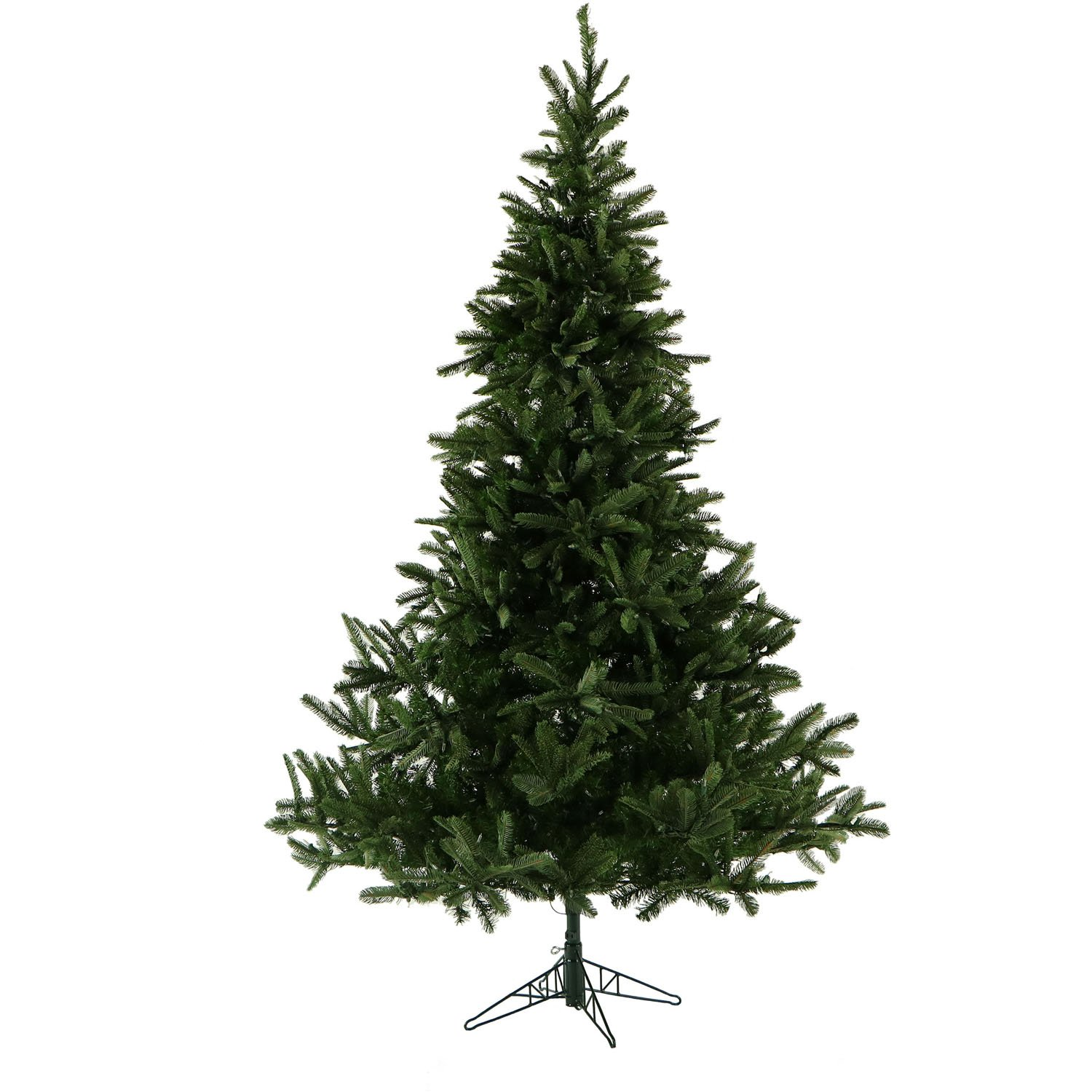 Amazon.com: 7.5 Ft. Noble Fir Christmas Tree with Clear LED String ...