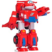 """Super Wings - Jett's Super Robot Suit Large Transforming Toy Vehicle 