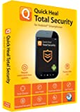 Quick Heal Total Security Latest Version for Android - 1 Device, 1 Year (Voucher) (with 1 year free extended subscription)