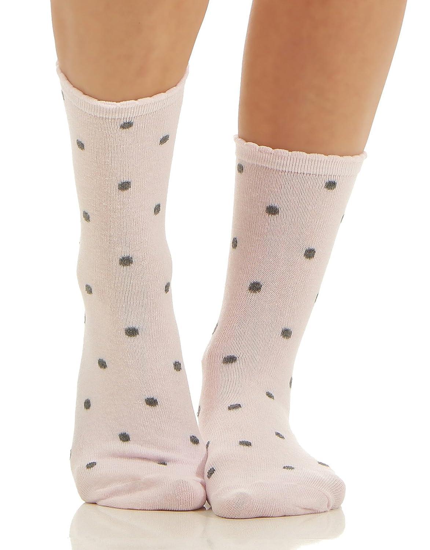 8er Pack Damen Sneaker Socken Mixed Strümpfe Füßlinge Punkte Streifen Blume 702