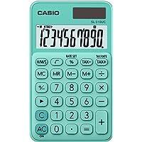 Casio SL-310UC-GN Taschenrechner, 10-stellig, in zehn Farbvarianten