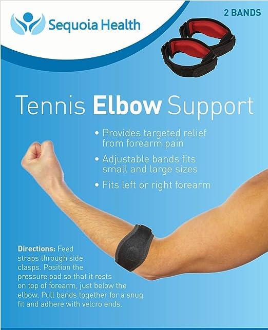 Amazon.com: Ortesis para codo (2 Count) – Tenis & Golf Codo ...