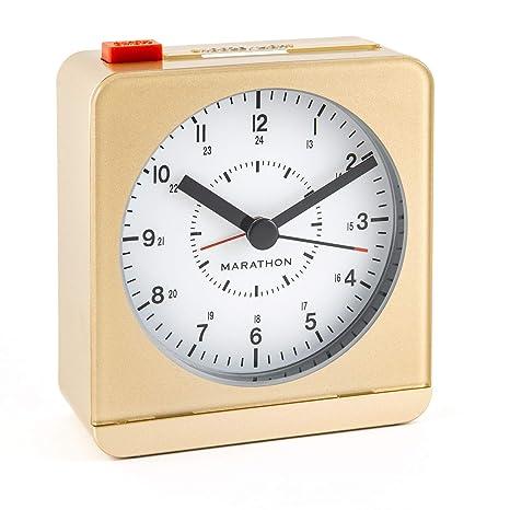 Classic Car Truck Alarm Clock Quartz Movement Bedside Night Analog Clock