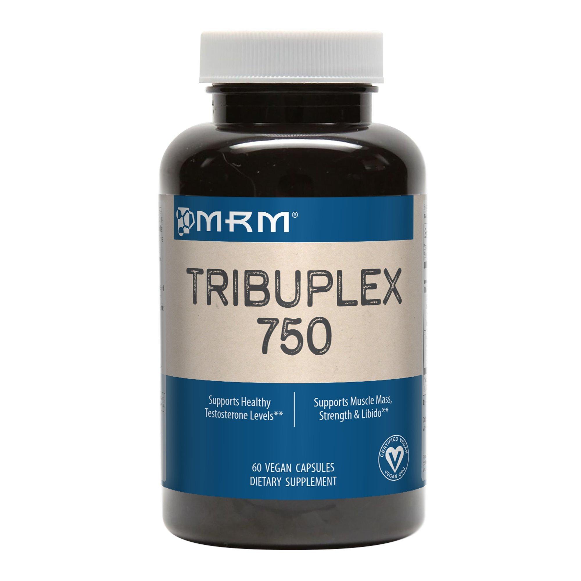 MRM TribuPlex 750 mg, 60-Count Bottles