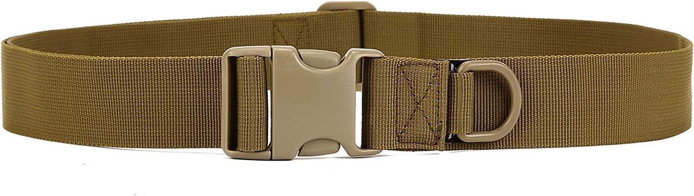 Caza Selighting Cintur/ón Molle T/áctica Militar de Nyl/ón Deportes al Aire Libre Correa Policia de Seguridad para Airsoft