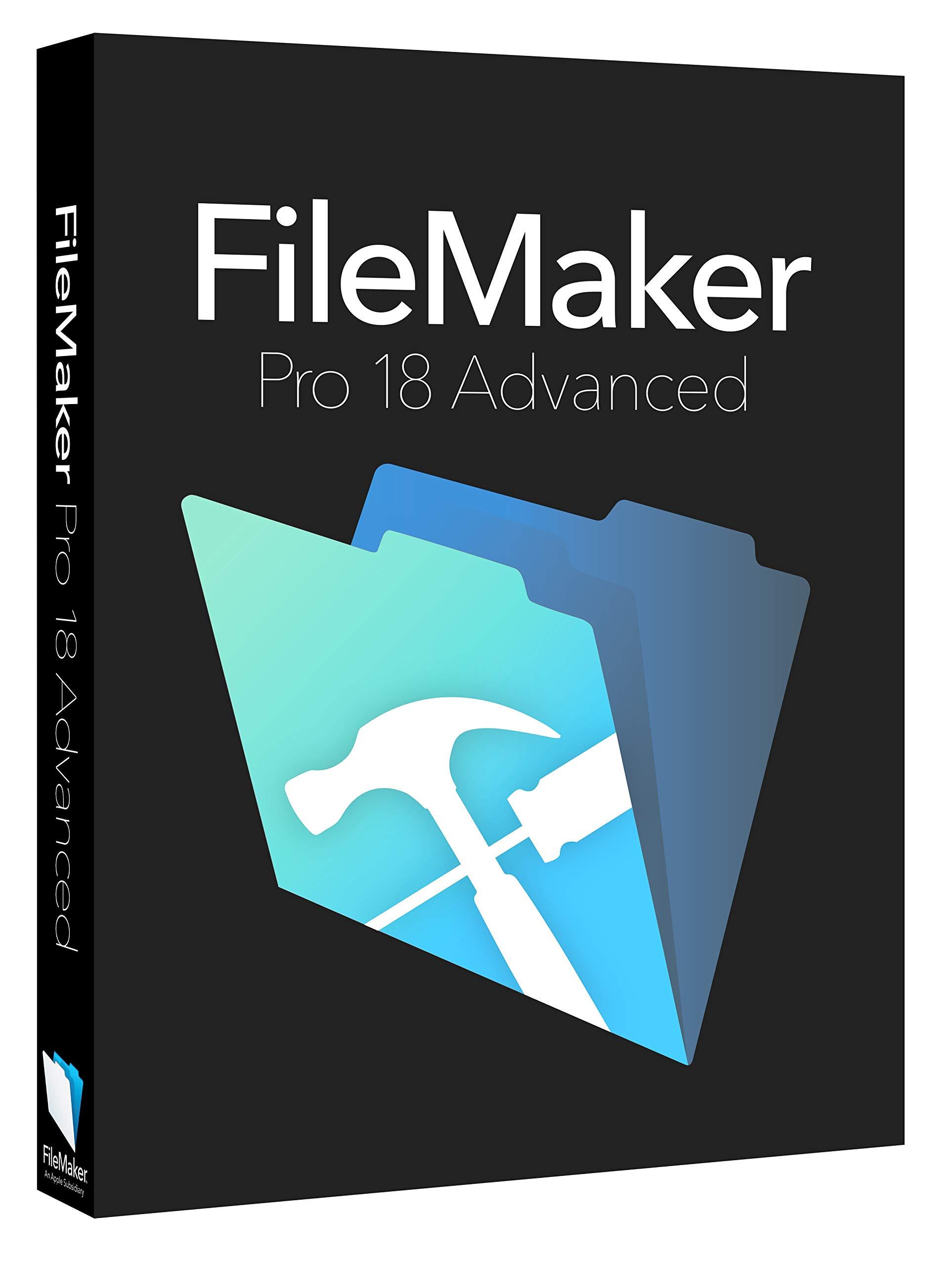 FileMaker Pro 18 Advanced Education Mac/Win V18 by Filemaker