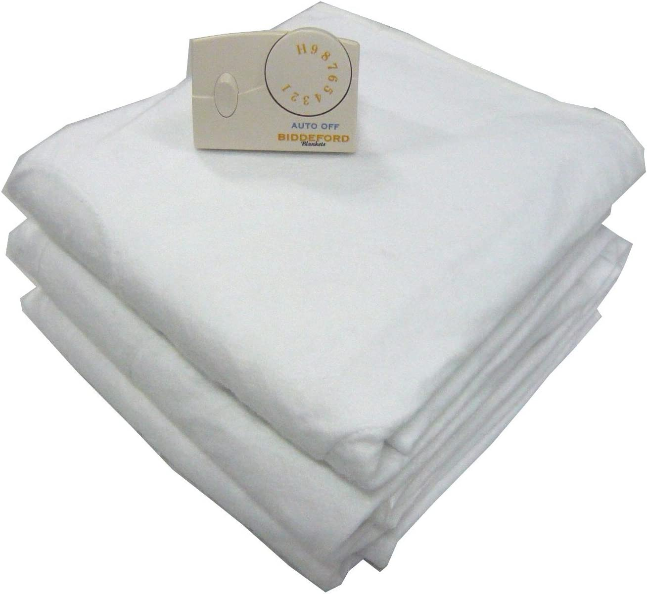 Full Biddeford Blankets Electric Heated Mattress Pad