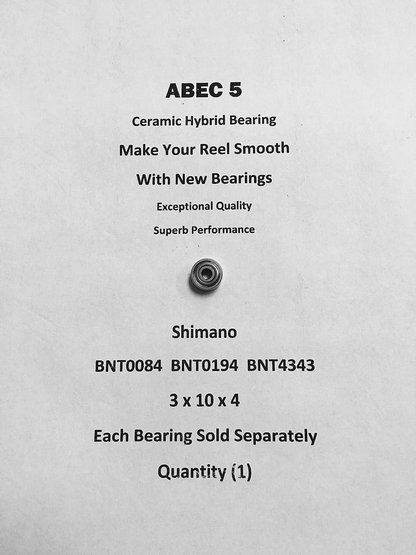 Shimano Calcutta 400 BNT0084 BNT0194 BNT4343 ABEC5 Ceramic Bearing 3x10x4#02