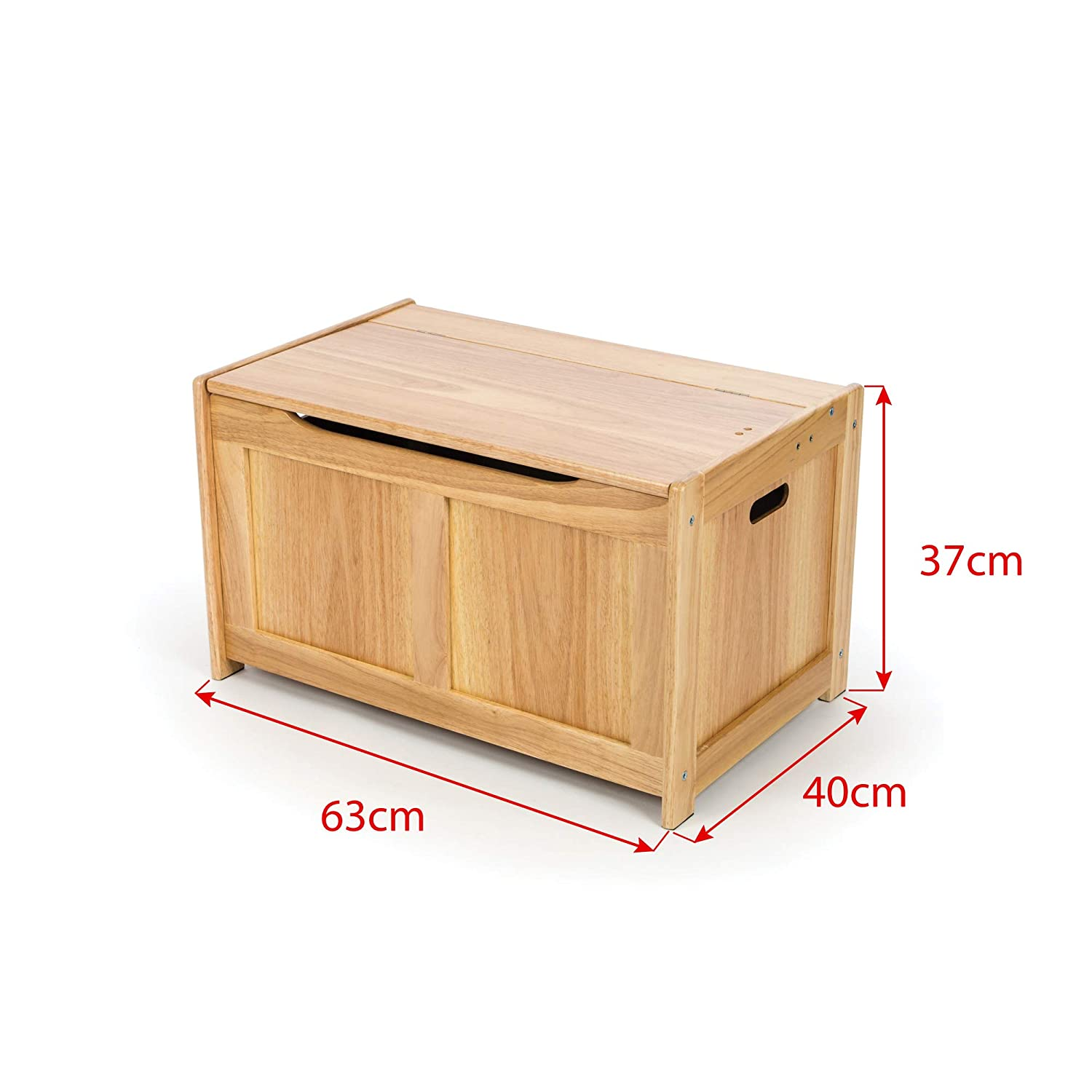 Storage Tidlo Wooden White Toy Chest