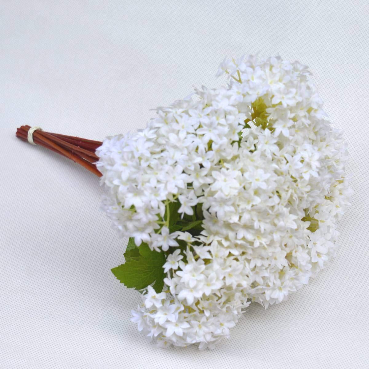 Amazon fatcolo mini artificial silk flower bouquet white 12 amazon fatcolo mini artificial silk flower bouquet white 12 piece home kitchen izmirmasajfo