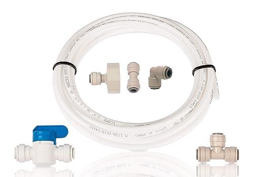 Bosch Kühlschrank Wasser Läuft Aus : Aqualogis kühlschrank filter klempner kit set schlauchanschluss ice