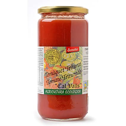 Tomate triturado Ecológico CAL VALLS (670gr)