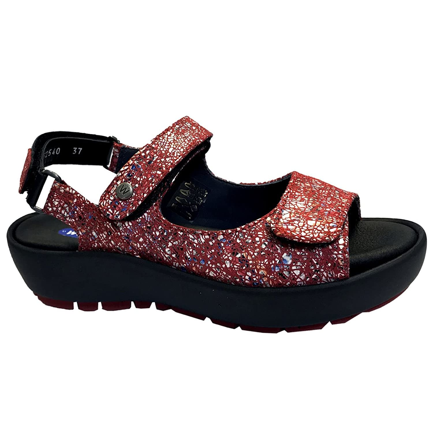 Wolky Comfort Rio B079XGM4G7 43 M EU|40950 Red Multi Suede