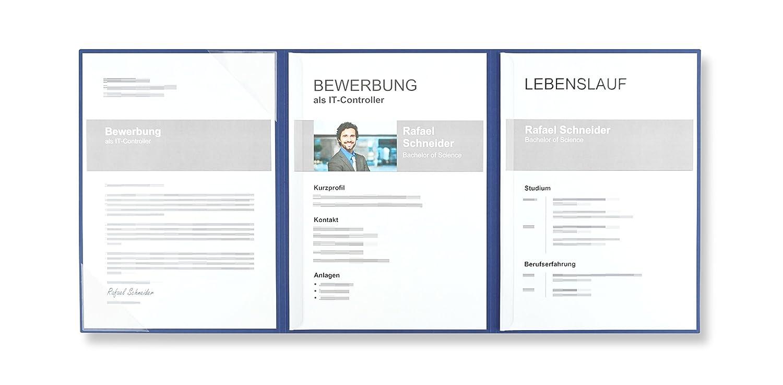 Pack Of 5 Sheets Exclusivdruck 10 Mega Plus 4 Part Job Applications
