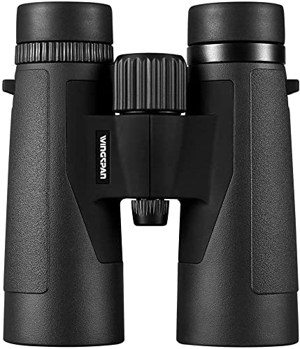 Wingspan Optics Voyager 10X42 High Powered Binoculars for Bird Watching. Bright and Clear Views – Waterproof and Fog Proof – for Bird Watching, Hiking and Exploring. Formerly Polaris Optics.