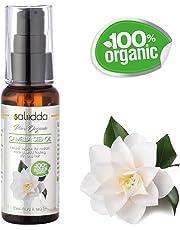 Orgánico aceite de semilla de camelia Saliidda - 100% puro y natural - Aceite portador sin diluir. antioxidante de gran alcance para suavizar el cabello, piel y uñas (50 ml)