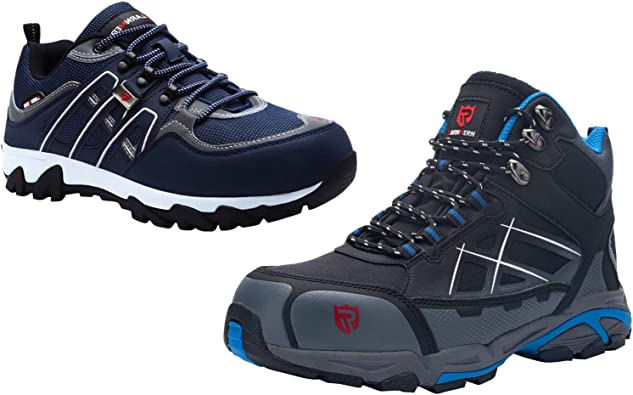 LARNMERN Steel Toe Boots for Men Safety