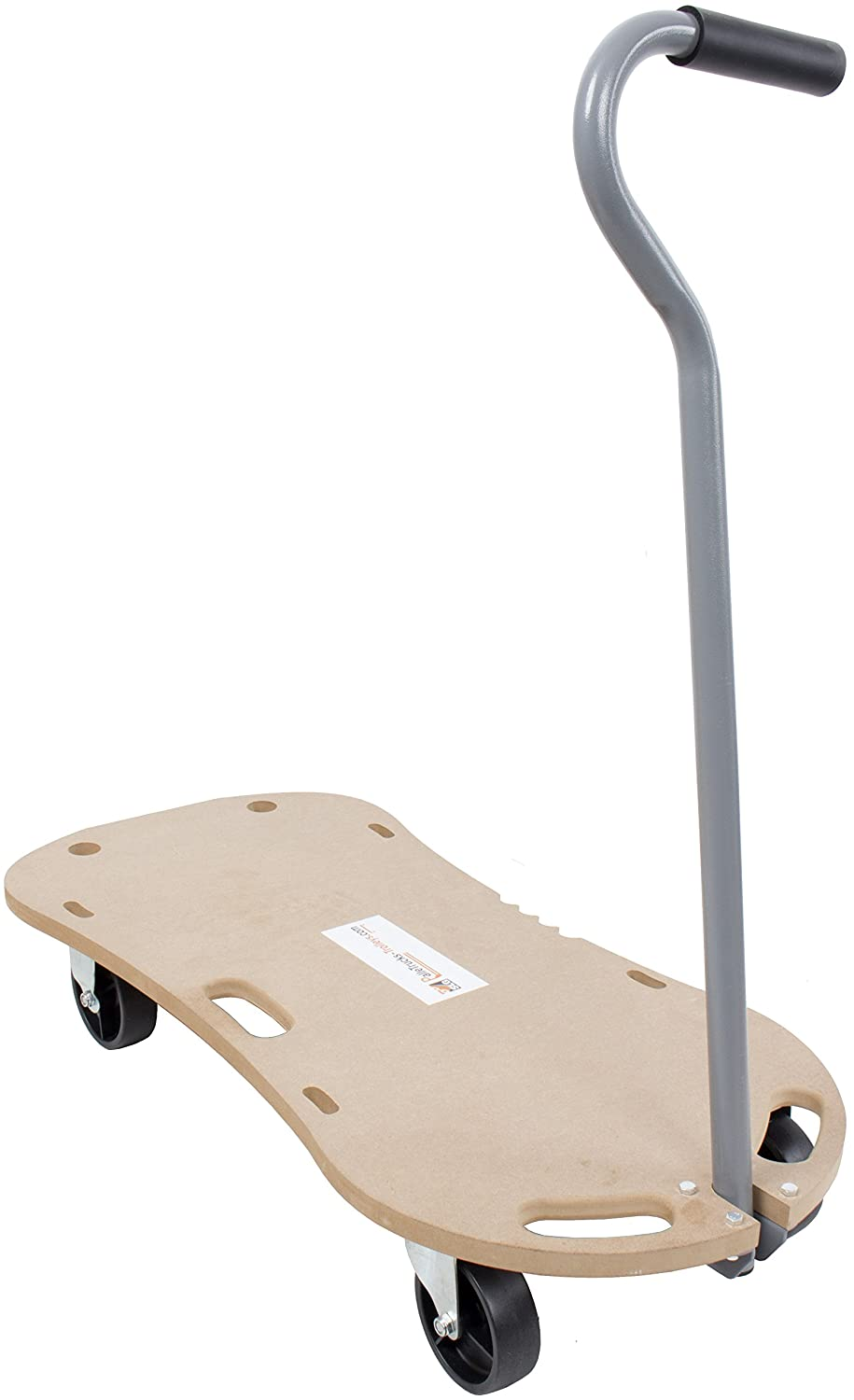 300kg Wooden Hand Dolly Trolley Cart Furniture Moving Platform Mover with Handle SafetyLiftinGear