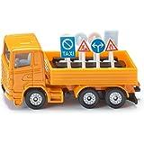Siku - 1322 - Véhicule sans piles  -  Camion signalisation routière - 1,64 ème