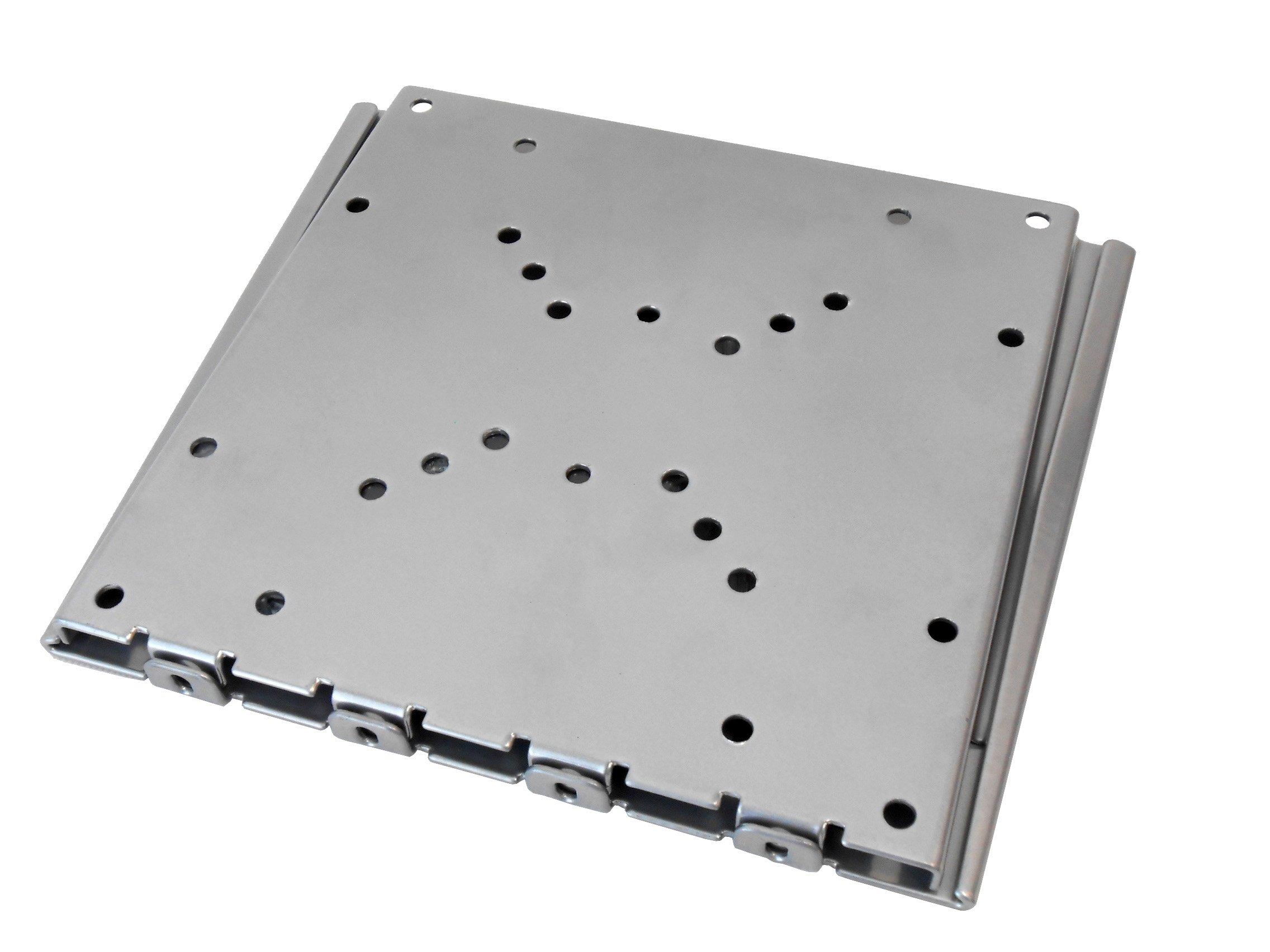Audio2000'S AST420L Flat PanelTV/MonitorWall Mount (Silver)