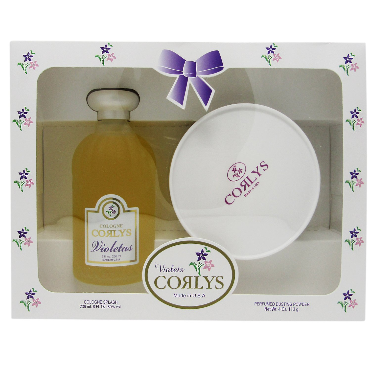 Corlys Violet Baby Cologne and Perfumed Dusting Powder essentialproducts