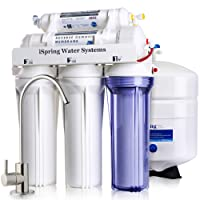 Deals on Ispring RCC7 5-Stage Reverse Osmosis Drinking Filtration System